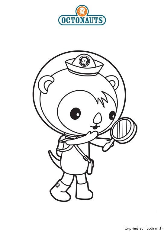 Shellington est un coloriage des octonauts - Octonauts dessin anime ...