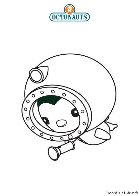 Peso l 39 explorateur est un coloriage des octonauts - Octonauts dessin anime ...
