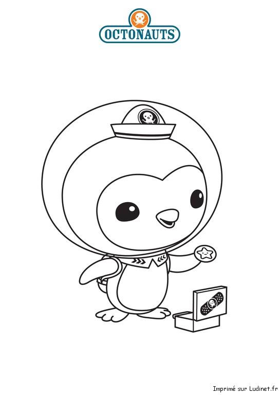 Peso l 39 infirmier est un coloriage des octonauts - Octonauts dessin anime ...