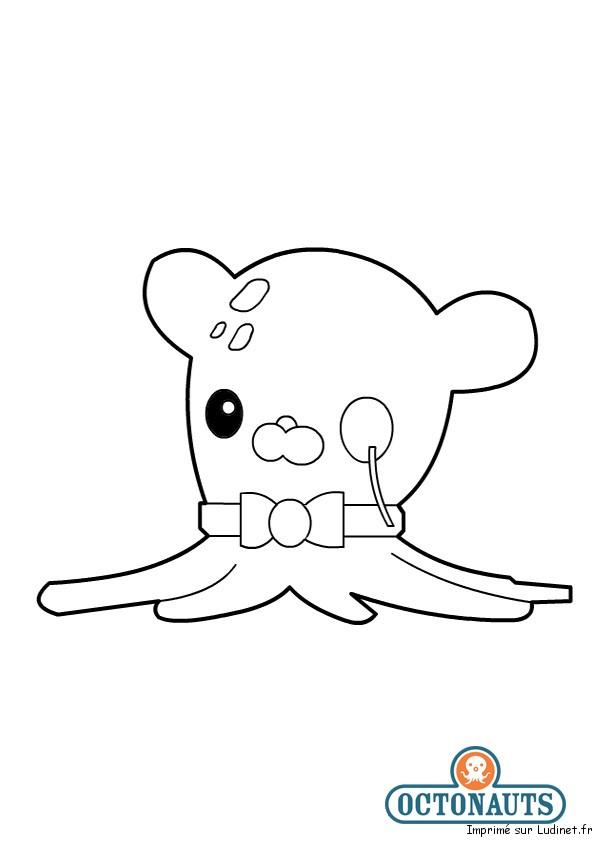 Professeur pieuvre est un coloriage des octonauts - Octonauts dessin anime ...