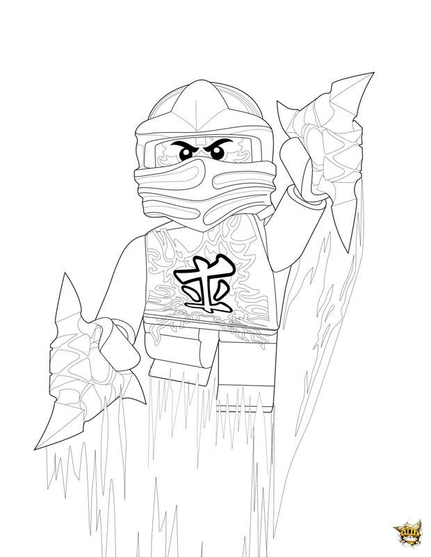 lego ninjago airjitzu coloring pages - photo#44