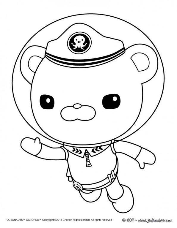 Barnacles nage est un coloriage des octonauts - Octonauts dessin anime ...