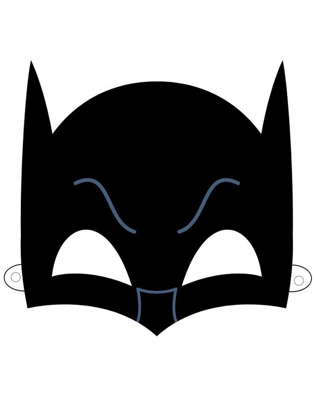 masque de batman imprimer et d couper. Black Bedroom Furniture Sets. Home Design Ideas