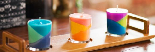 Faire une bougie avec des crayola - Comment enlever de la cire de bougie sur une nappe ...
