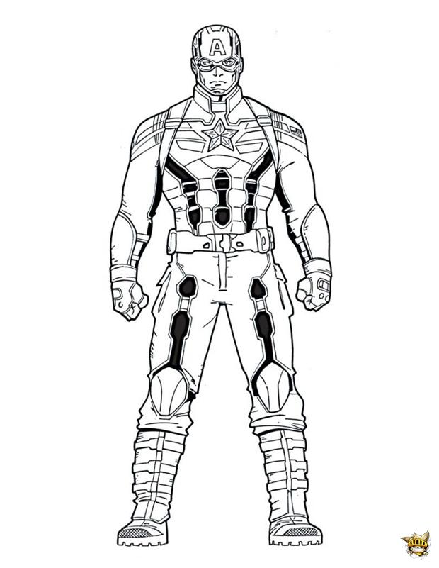 Captain America Est Le H 233 Ros Soldat Am 233 Ricain
