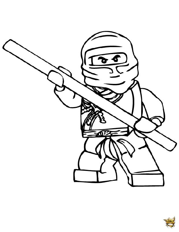 Cole ninjago est un coloriage de ninjago for Lego ninjago coloring pages cole