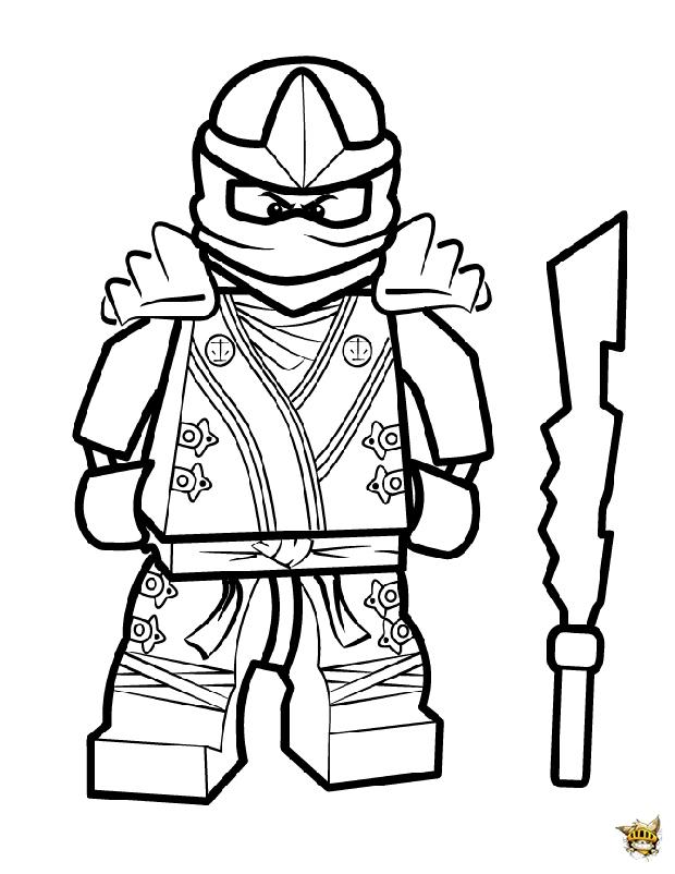 Cool Kai est un coloriage de Ninjago