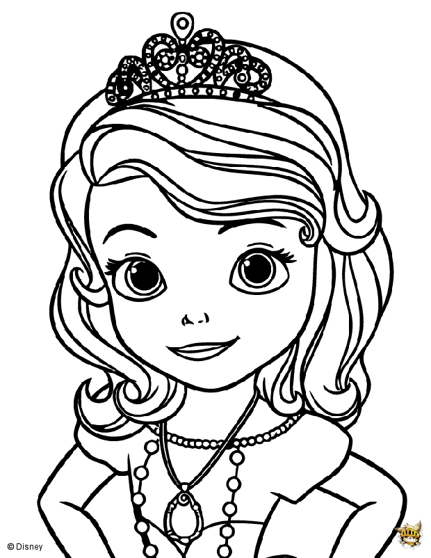 Coloriage Chateau Princesse Sofia.Disney Princesse Sofia Est Un Coloriage De La Princesse Sofia
