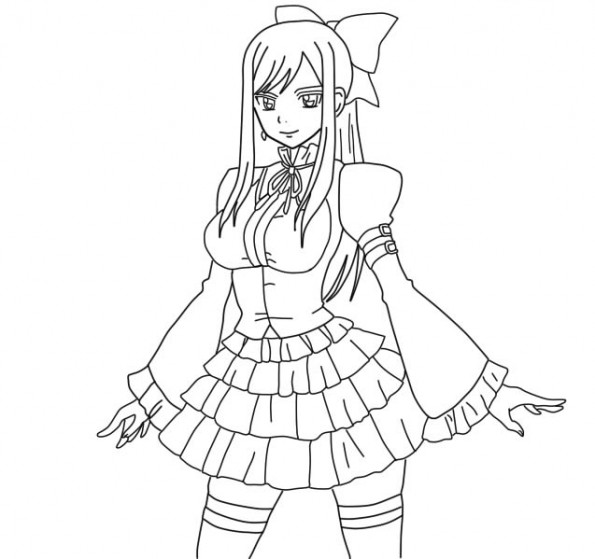 513691901221731128 in addition How To Draw Lector From Fairy Tail moreover Fairy Tail Manga 12 Coloriage 11404 besides Wendy Marvell as well Erza En Jupe. on easy to draw zeref