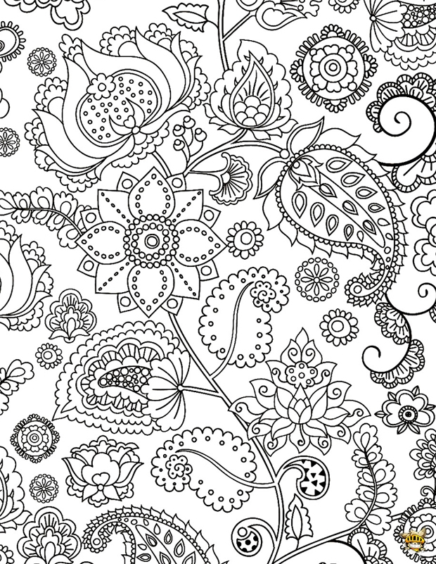 Coloriage Fleur Zen.Coloriage Fleurs Zen Pour Adultes