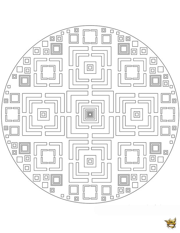 Labyrinthes carrés