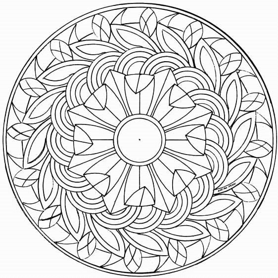 mazuras mandala coloring pages - photo#12