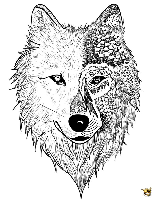 Monstre loup