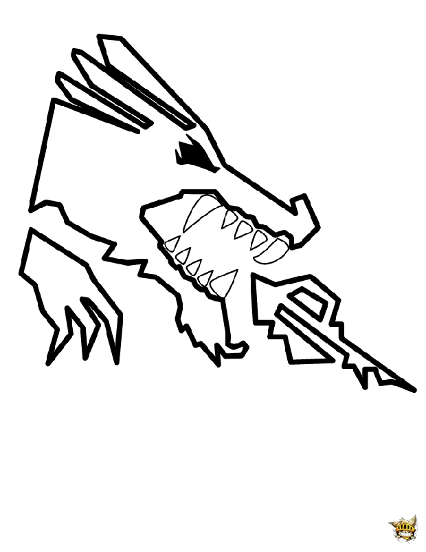 lego dragon coloring pages - ninjago dragon est un coloriage de ninjago