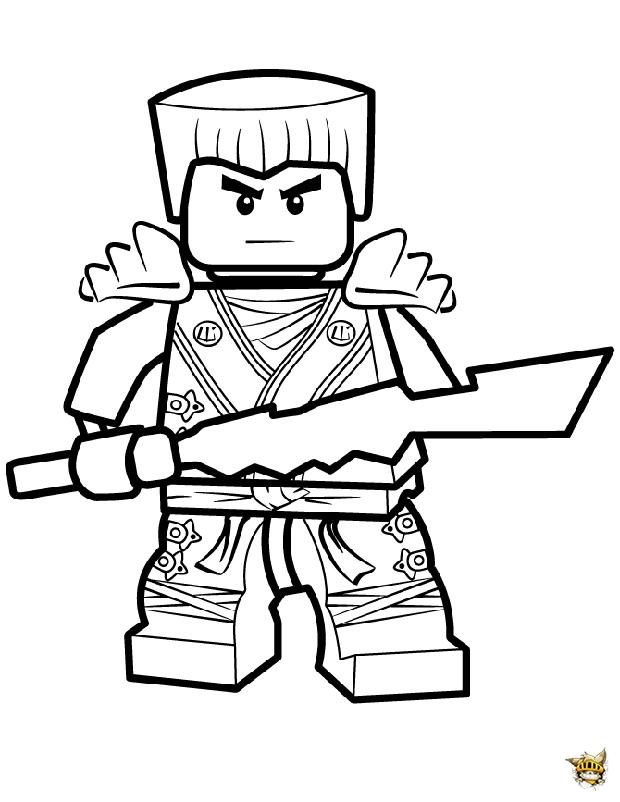 Coloriage lego ninjago a imprimer gratuit lord garmadon - Coloriages lego ninjago ...