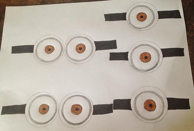 Oeil de minions