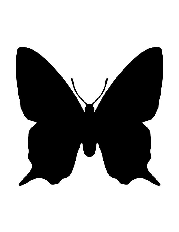 Papillon Monarch Est Une Silhouette 224 Imprimer