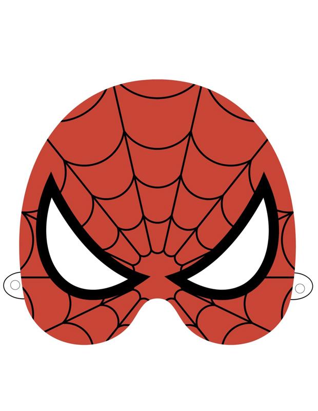 Masque de spiderman imprimer et d couper - Masque spiderman a imprimer ...