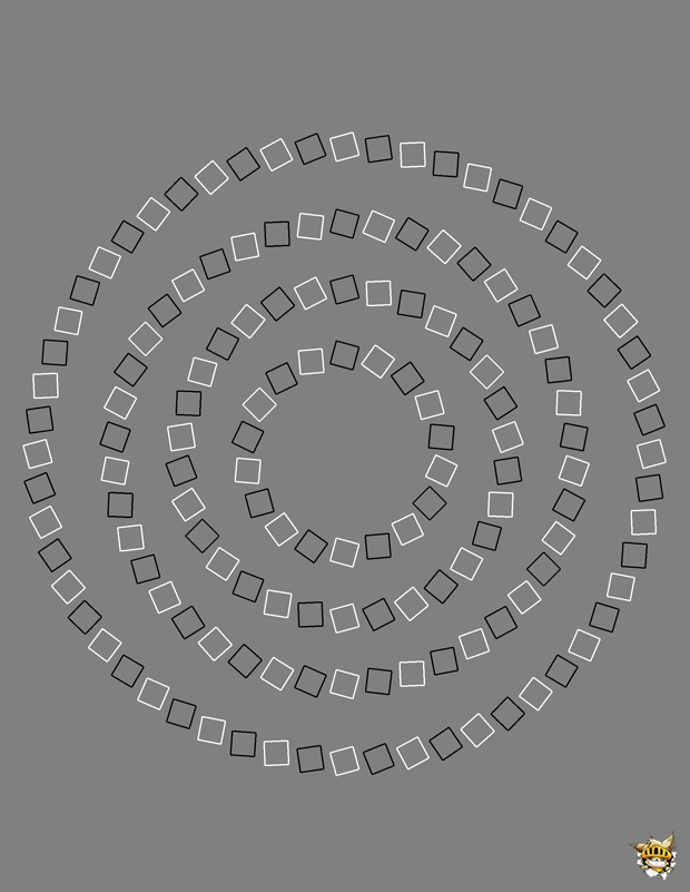 Spirales ou ronds