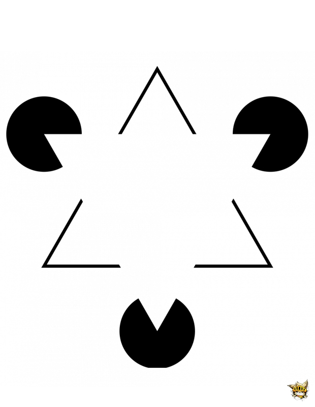 Triangle Kanizsa