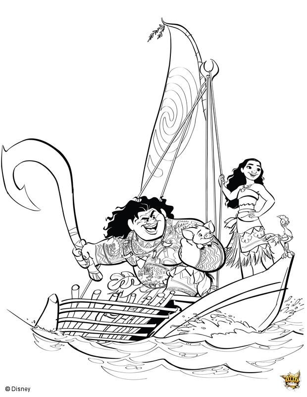 Vaiana Maui bateau