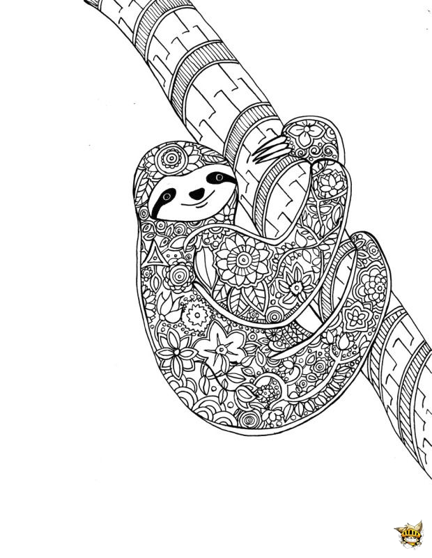 Animal Mandala Coloring Sheetsmalvorlagen Fr Erwachsene Fabeltiere